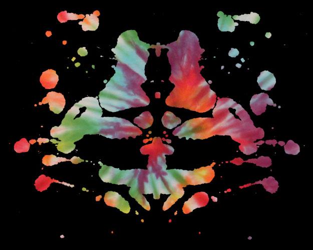 Rorschach tie-dye