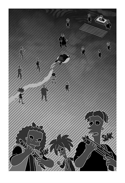 Bartkira vol 4 page 290 illustrations by Haoyan of America