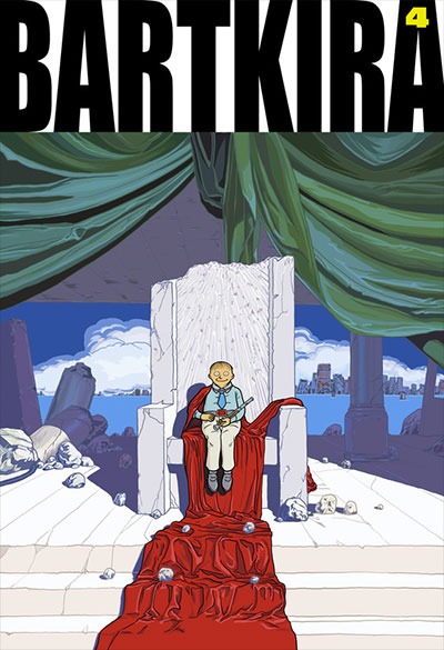 Bartkira vol 4 cover