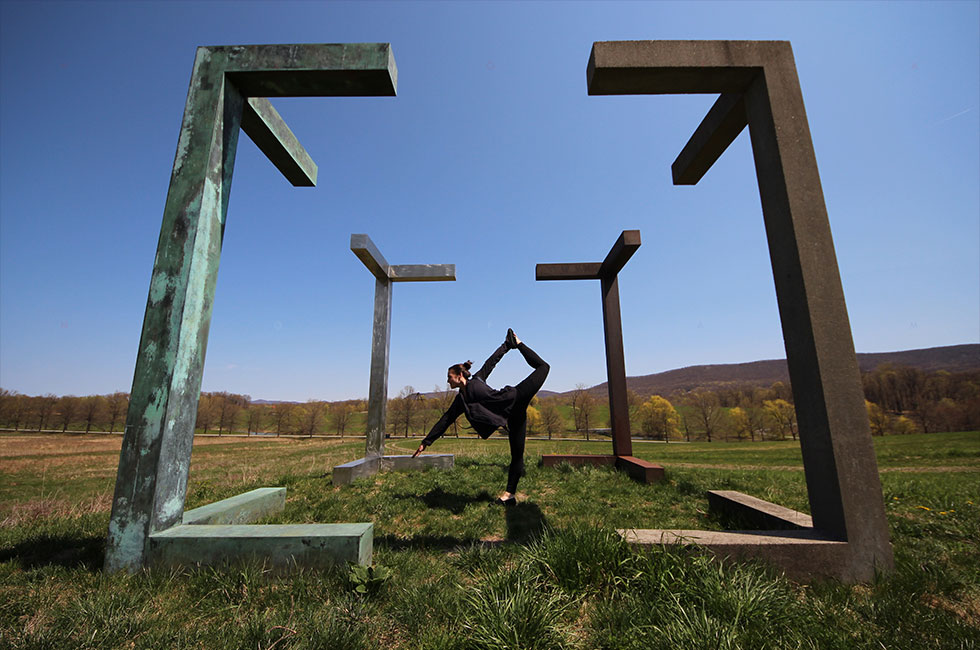 Storm King cube and Maddy