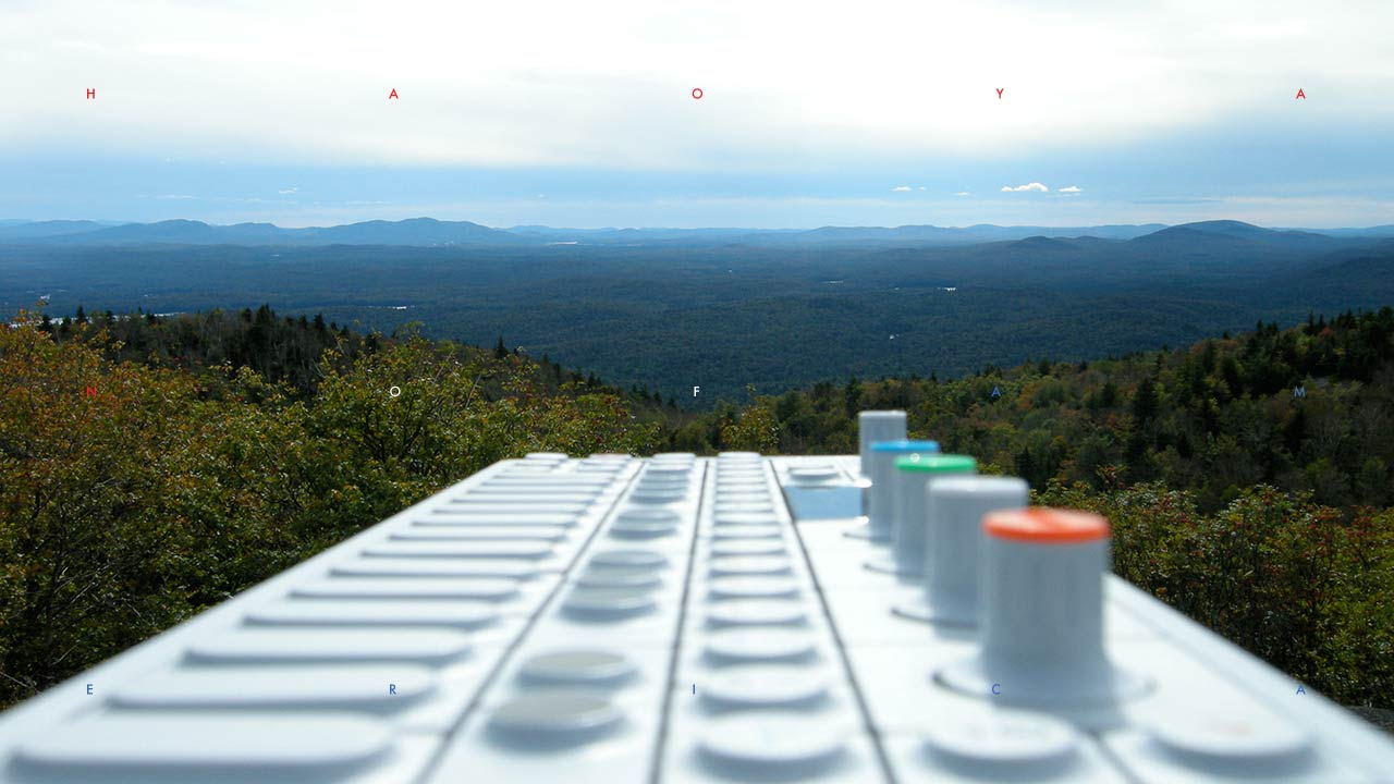 Teenage Engineering OP-1 synthesizer in nature