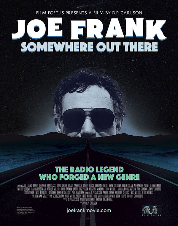 Joe Frank Movie, poster design by Haoyan of America